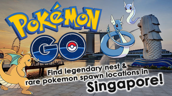 POKEMON GO COMPILED: Find legendary nest & rare pokemon spawn locations in SINGAPORE