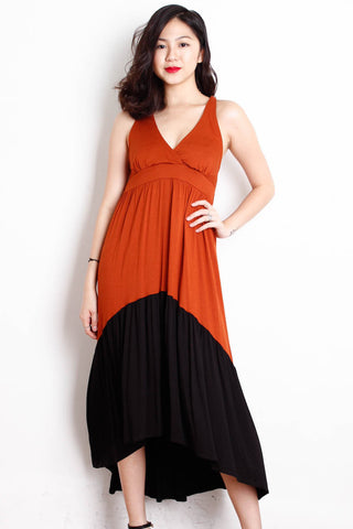 [DOROTHY PERKINS] Two-Toned Summer Maxi Dress