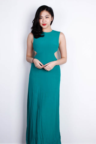 [LOVE BONITO] Enraptured Maxi Dress in Emerald Green