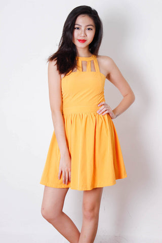 [HOLLYHOQUE] Sunshine Flaren Dress