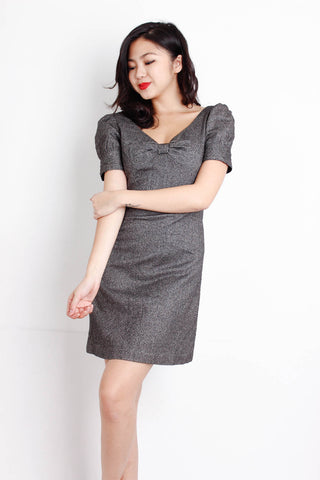 [ZARA] Ribbon Puffed Sleeve Dress