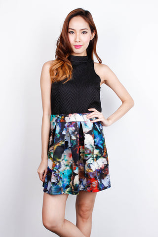 [MDS] Abstract Pegged Skirt