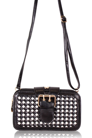 Checkered Multi-function Slingbag