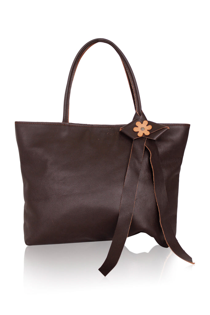 [LE CHEVAL] Leather Tote Bag