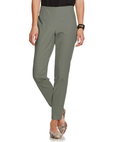 [H&M] Green Zip Side Skinny Pants