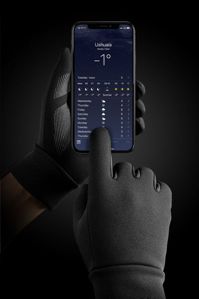 Insulated mujjo touchscreen gloves