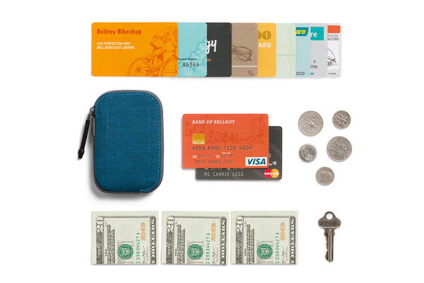 Flat Lay Woven All Conditions Wallet