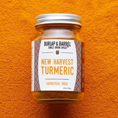 burlap new harvest turmeric