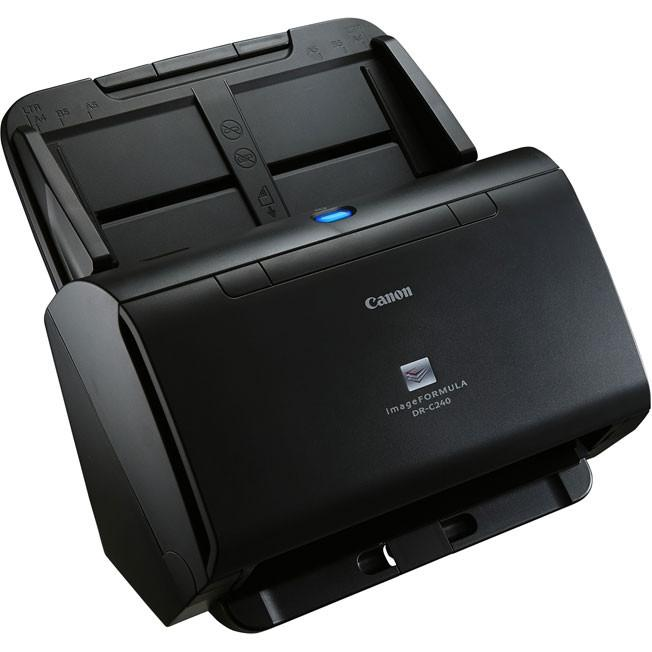 Canon ImageFORMULA DR-C240 Office Document Scanner w// Power Supply TESTED No USB