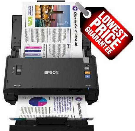 Epson Work Force DS860 A4 scanner 60 page per minute