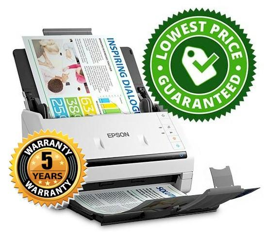 Epson DS530 5 year warranty