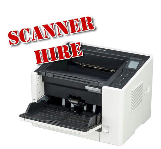 A4 Fast Document scanner hire rental