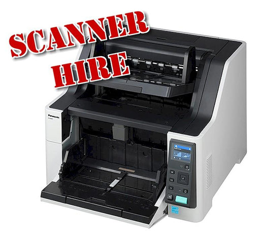 A3 Production very  fast Scanner Hire