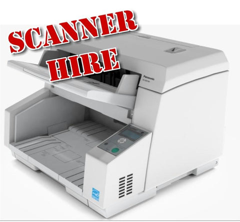 Scanner Hire/Rental A4 Ae Fast Document scanner