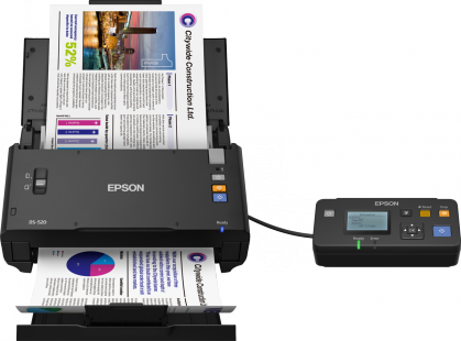Epson Workforce DS520n A4 ADF Scanner