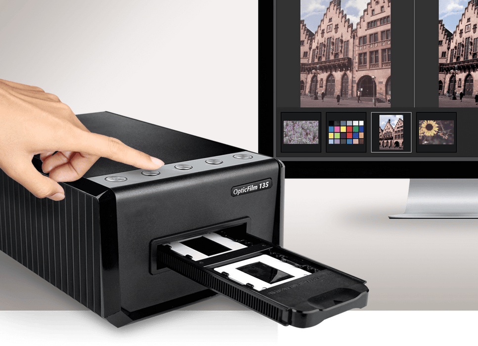 Plustec OpticFilm 135 Film scanner