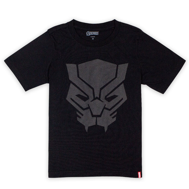 Kid Avengers T-Shirt Anti Bacterial Lite (Black Panther)