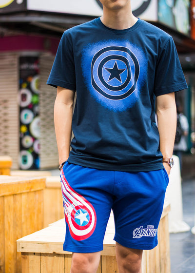 Avengers Graphic T-Shirt Captain America,  Marvel - Characters Studio