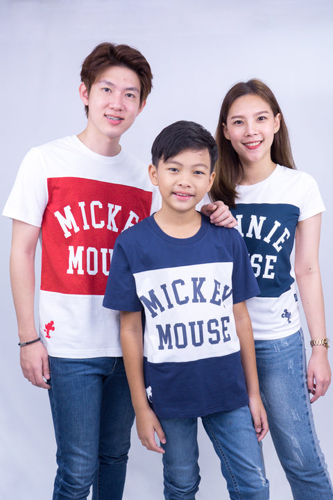 Men's Mickey Mouse family -T Shirt