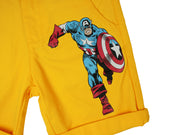 กางเกงขาสั้นเด็ก Marvel Kid - Shorts Captain America,  Marvel - Characters Studio