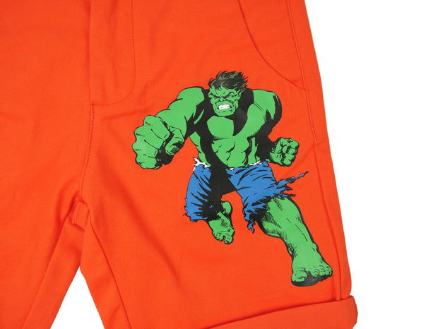 กางเกงขาสั้นเด็ก Marvel Kid - Shorts The Hulk,  Marvel - Characters Studio