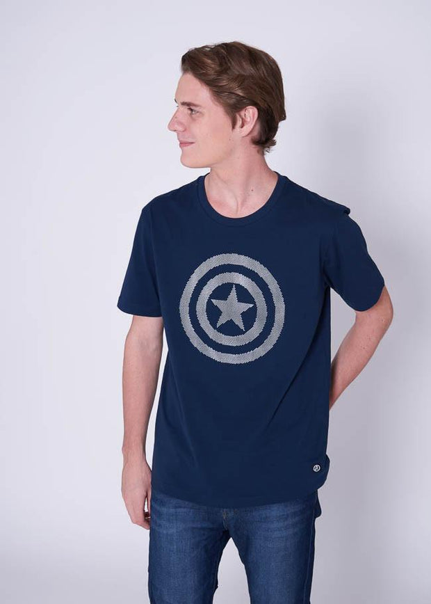 Avengers Glow In the Dark T-Shirt Captain America,  Marvel - Characters Studio