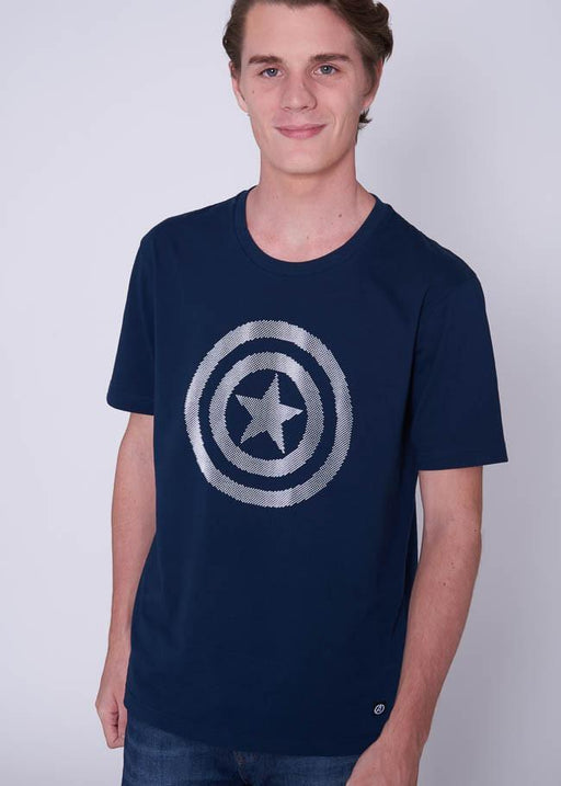 Avengers Glow In the Dark T-Shirt Captain America-T-SHIRT-Marvel-Characters Studio
