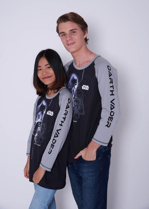 เสื้อ สตาร์ วอร์ส ผู้ชาย Men's Star Wars Long sleeve-long sleeve-Star Wars-Characters Studio