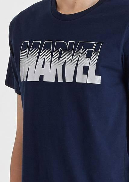 เสื้อมาร์เวล Marvel Graphic Basic Logo T-Shirt-T-Shirt-Marvel-Characters Studio