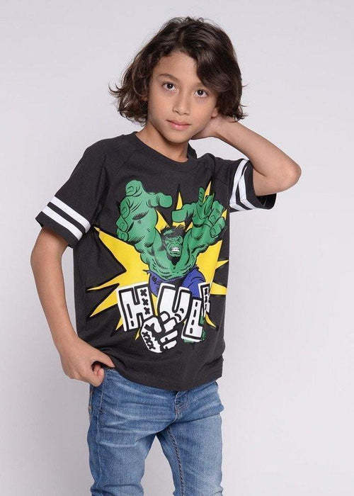 เสื้อยืดเด็ก เดอะฮัค Marvel Kid - T shirt The Hulk-T-Shirt-Marvel-Characters Studio