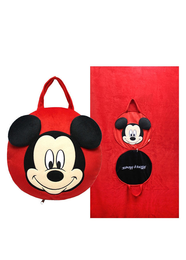 หมอนผ้าห่ม มิกกี้เมาส์ Mickey Mouse - Blanket Pillow-Blanket Pillow-Mickey Mouse & Friends-Characters Studio