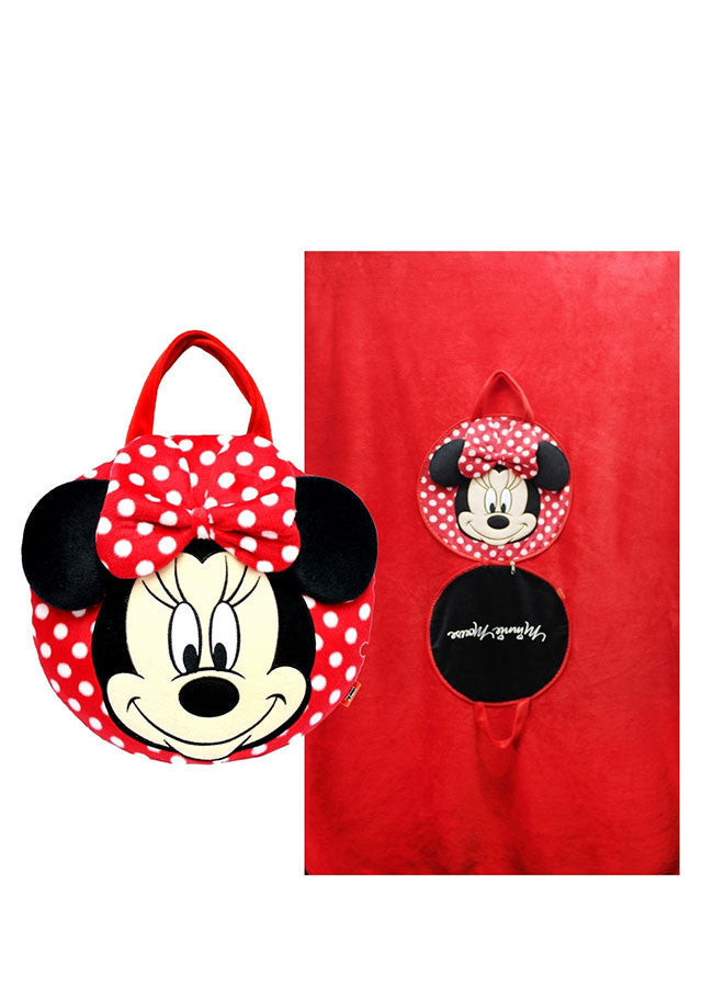 หมอนผ้าห่ม มินนี่เมาส์ Minnie Mouse - Blanket Pillow-Blanket Pillow-Mickey Mouse & Friends-Characters Studio