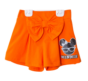 กางเกงเด็ก มิกกี้เม้าส์ Mickey - Kid Shorts-Shorts-Mickey Mouse & Friends-Orange-S-Characters Studio