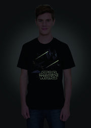 Men's Star Wars Glow In The Dark T-shirt,  Star Wars - Characters Studio