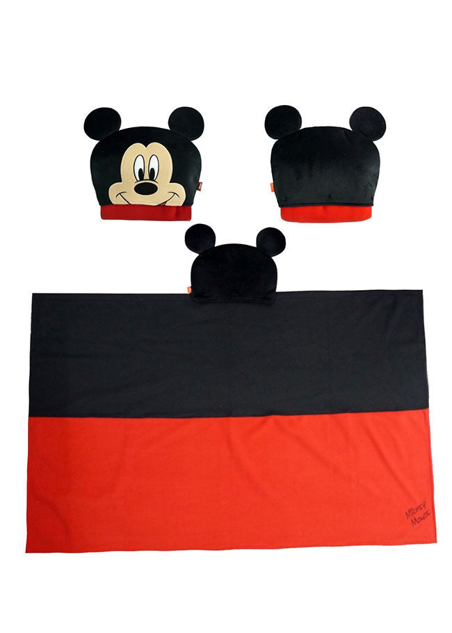 ผ้าคลุมไหล่มิกกี้เมาส์ Mickey Mouse - Blanket-Blanket-Mickey Mouse & Friends-Characters Studio