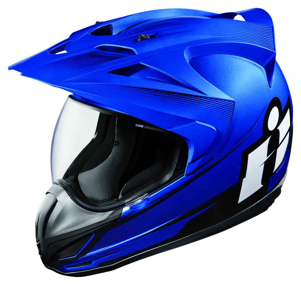 Icon VARIANT™ DOUBLE STACK™ Helmet - Blue