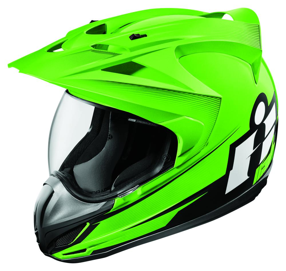 Icon VARIANT™ DOUBLE STACK™ Helmet - Green