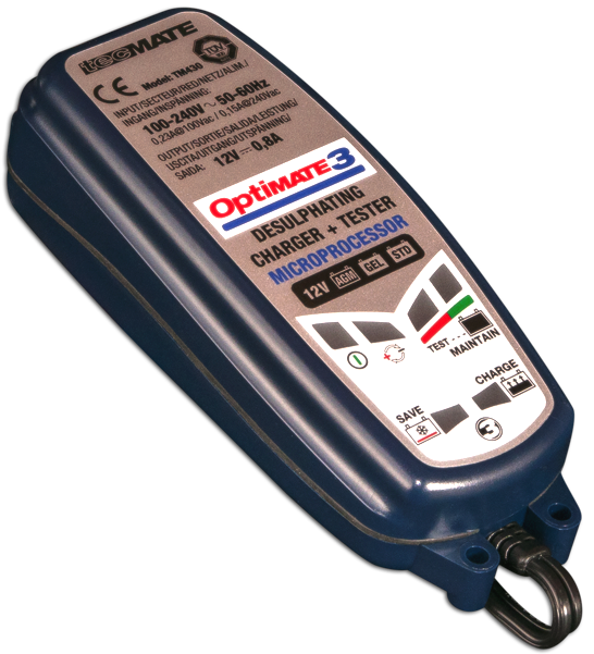 OptiMate 3 Advanced Battery Charger