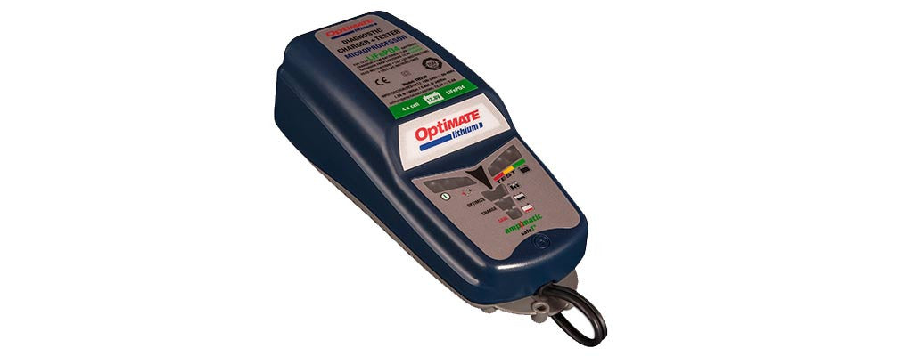 OptiMate Lithium/LiFePO4 Advanced Battery Charger