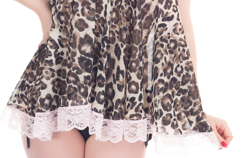 Meooow introducing the new leopard print joan babydoll for My retro closet