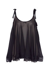 Joan Babydoll in Signature Black