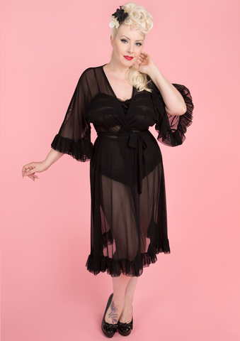 Veronica Robe - Black