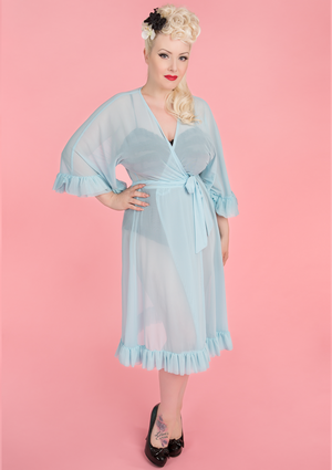 Veronica Robe - Powder Blue