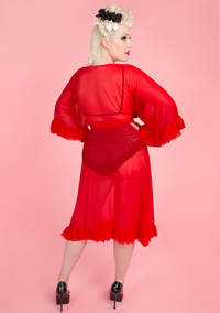 Veronica Robe - Red