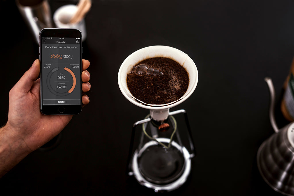 Are you ready for brewing some great coffee? Do it with GINA Smart Coffee Instrument!