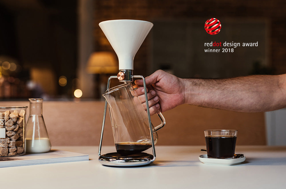 510bc1a37a61a8 GINA Smart Coffee Instrument - three brewing methods + app | GOAT STORY
