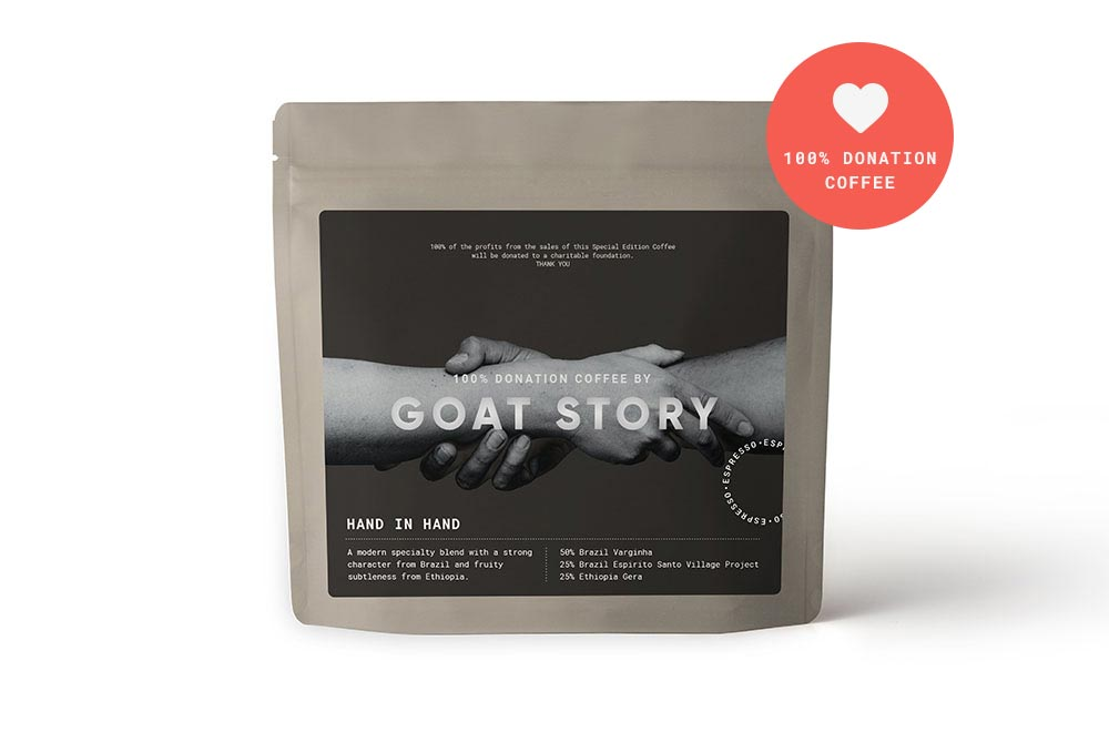 Hand in Hand Blend 250g | 100% charity donation
