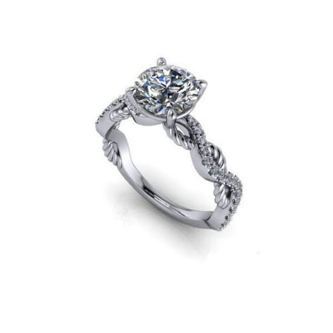 Splendide solitaire de 1.80ct