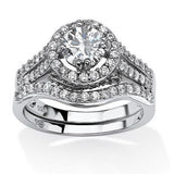 Ensemble de 1.67ct CZ