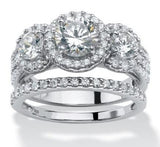 Ensemble de 2.61ct CZ